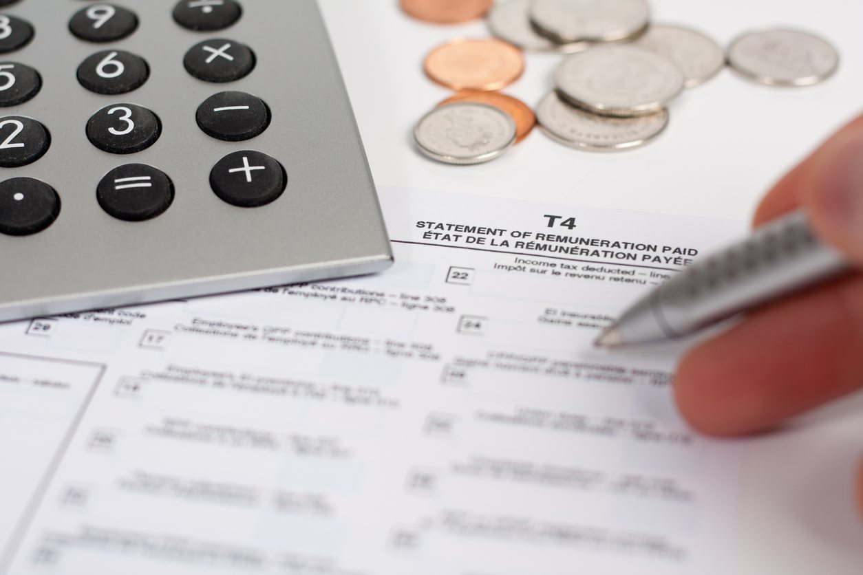 Domestic Employer T4 Slip | T4 Summary | NannyTax | Canada